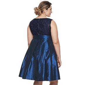 Plus Size Chaya Embellished Fit Amp Flare Dress Null