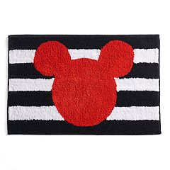 Disney's Mickey Mouse Stripe Bath Rug