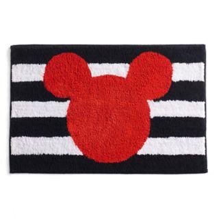 Disney's Mickey Mouse Stripe Bath Rug