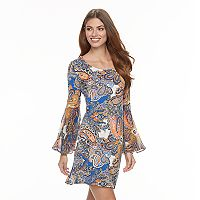 Women's MSK Paisley Shift Dress