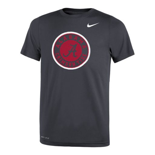 Boys 8-20 Nike Alabama Crimson Tide Travel Dri-FIT Tee