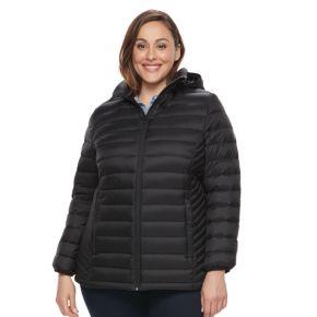 Plus Size ZeroXposur Packable Down-Fill Puffer Jacket