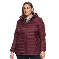 Plus Size ZeroXposur Packable Down-Fill Puffer Jacket