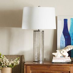 INK+IVY Kronos Glass Table Lamp