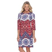 Women's Suite 7 Imperial Tile Shift Dress