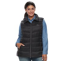 Plus Size ZeroXposur Chris Hooded Sweater Down Vest