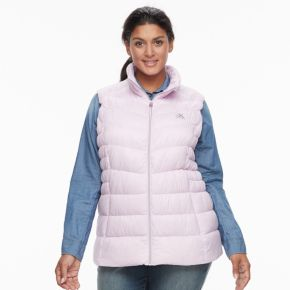 Plus Size ZeroXposur Chris Hooded Sweater Down Vest