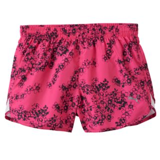 Girls 7-16 PUMA Mesh Piece Running Shorts