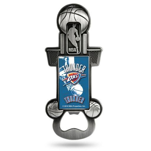 Oklahoma City Thunder Party Starter Bottle Opener Magnet