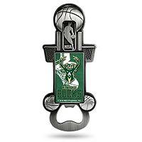 Milwaukee Bucks Party Starter Bottle Opener Magnet