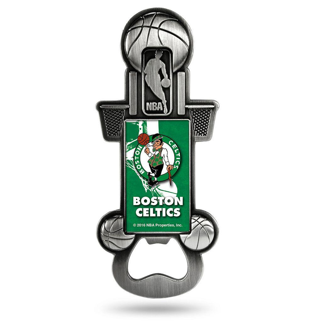 Boston Celtics Party Starter Bottle Opener Magnet
