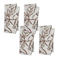 The Big One® Lace Leaves Napkin 4-pk.