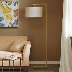 Madison Park Gold Finish Floor Lamp
