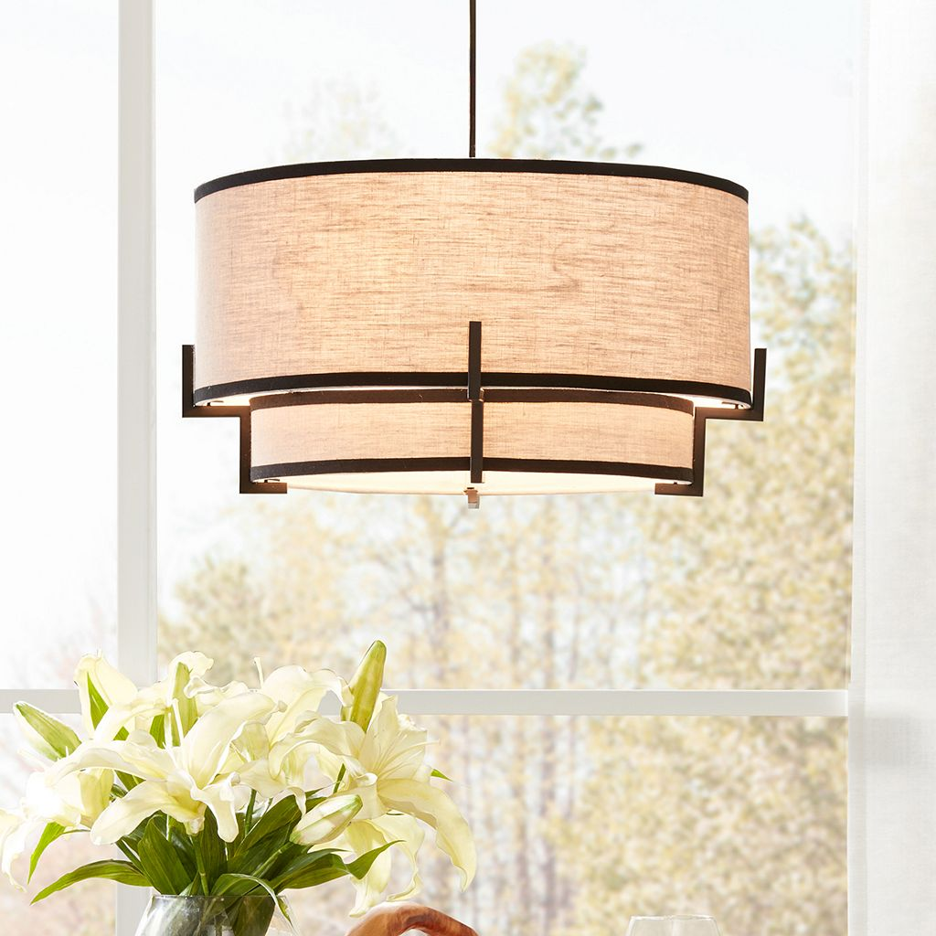 Madison Park Signature Harver Tiered Pendant Lamp
