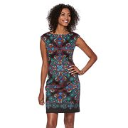 Women's Suite 7 Paisley Ponte Sheath Dress