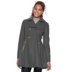 Women's Apt. 9® Wool Blend Double-Breasted Coat