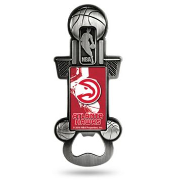 Atlanta Hawks Party Starter Bottle Opener Magnet