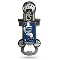 Utah Jazz Party Starter Bottle Opener Magnet