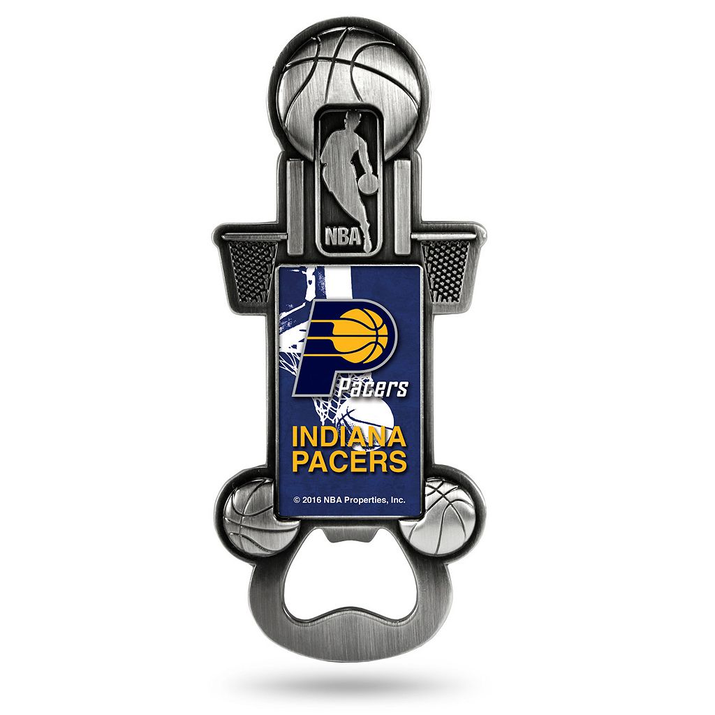 Indiana Pacers Party Starter Bottle Opener Magnet