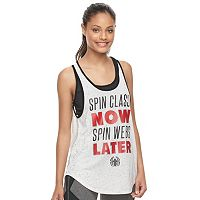 Juniors' Marvel Hero Elite Spider-Man Graphic Tank & Sports Bra by Her Universe