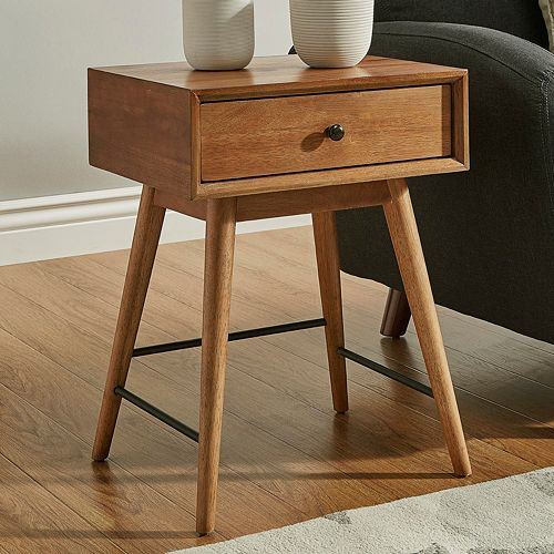 HomeVance Glenmore Mid-Century End Table