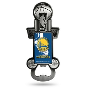 Golden State Warriors Party Starter Bottle Opener Magnet