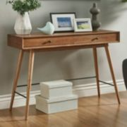 HomeVance Glenmore Mid-Century Console Table