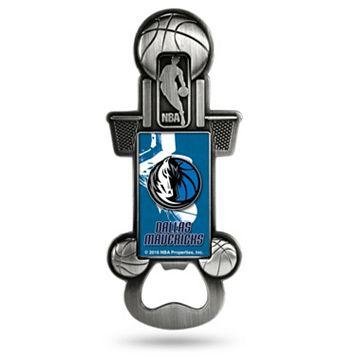 Dallas Mavericks Party Starter Bottle Opener Magnet