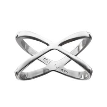 PRIMROSE Sterling Silver X Ring