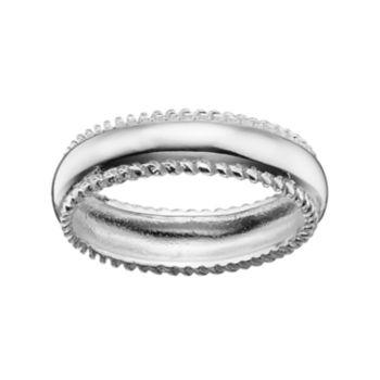 PRIMROSE Sterling Silver Twist Ring