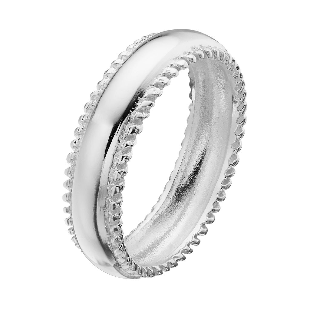PRIMROSE Sterling Silver Twist Ring