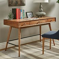 HomeVance Glenmore Mid-Century Desk