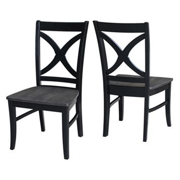 International Concepts Cosmo Dining Chair 2-piece Set