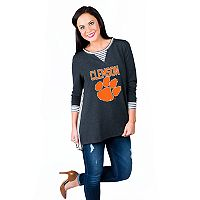 Women's Gameday Couture Clemson Tigers Back Panel Oversized Tunic