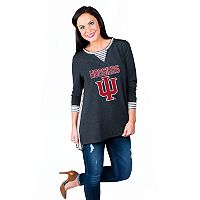 Women's Gameday Couture Indiana Hoosiers Back Panel Oversized Tunic