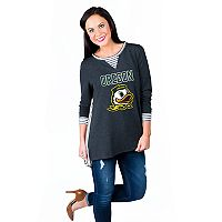 Women's Gameday Couture Oregon Ducks Back Panel Oversized Tunic