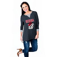 Women's Gameday Couture Georgia Bulldogs Back Panel Oversized Tunic
