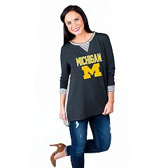 Women's Gameday Couture Michigan Wolverines Back Panel Oversized Tunic