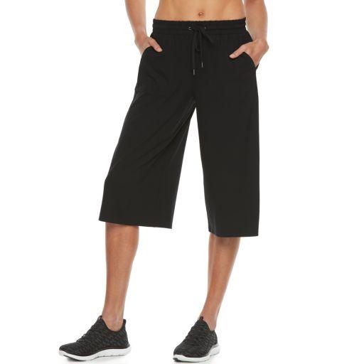 Women's Tek Gear® Drawstring Capri Culottes