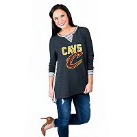 Women's Gameday Couture Cleveland Cavaliers Back Panel Oversized Tunic