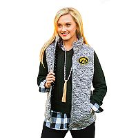 Women's Gameday Couture Iowa Hawkeyes Quilted Vest