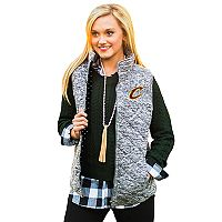 Women's Gameday Couture Cleveland Cavaliers Quilted Vest