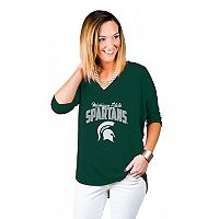 Women's Gameday Couture Michigan State Spartans Team Tee