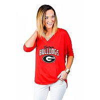 Women's Gameday Couture Georgia Bulldogs Team Tee