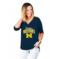 Women's Gameday Couture Michigan Wolverines Team Tee