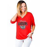 Women's Gameday Couture Wisconsin Badgers Team Tee