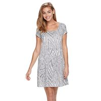 Women's Ronni Nicole Print T-Shirt Dress