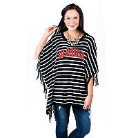 Women's Gameday Couture Alabama Crimson Tide Fringed Poncho