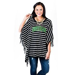 Women's Gameday Couture Oregon Ducks Fringed Poncho
