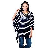 Women's Gameday Couture Penn State Nittany Lions Fringed Poncho